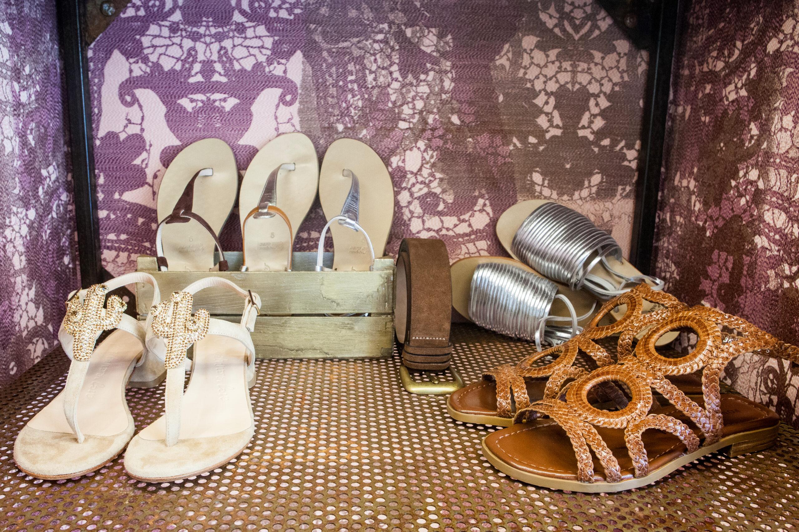 Collezione P/E Mucca Carolina Genova calzature donna
